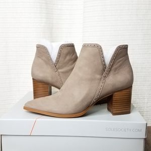 Sole Society Dalphine booties